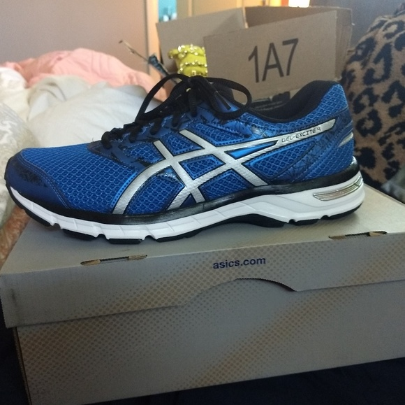 219cb020323aa ASICS Men's Gel-Excite 4 Running Shoe Size 10 New NWT